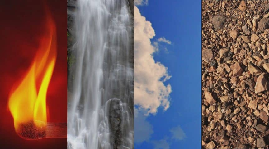 The Four Elements Throughout Mystic Tradition