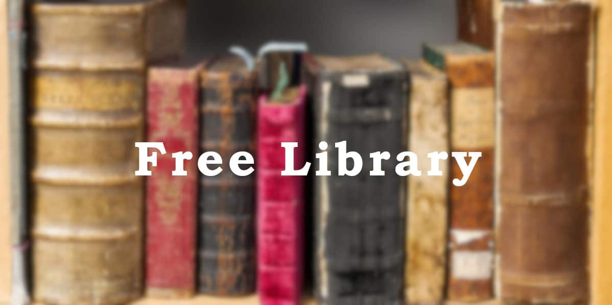 Free library Header