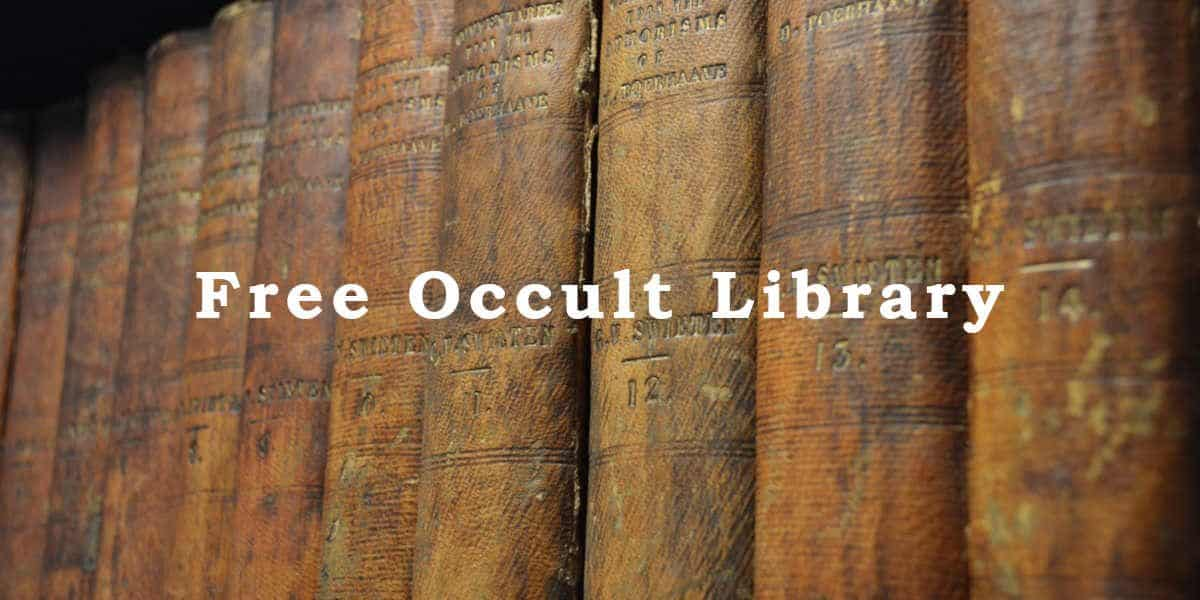 Free Occult Library