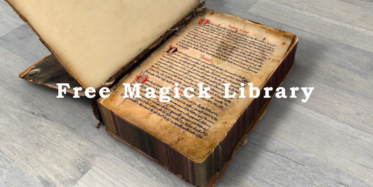 Free Magick Library