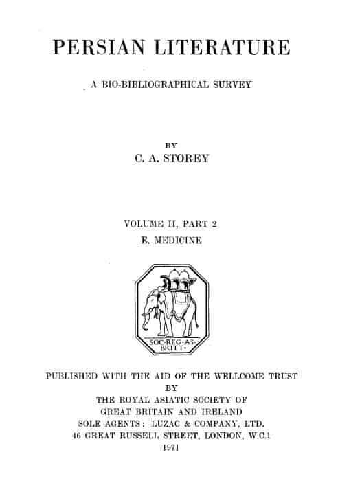 Storey Persian Literature Vol. II - 1902