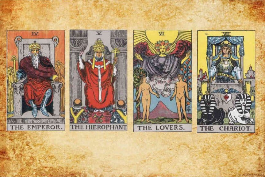 Esoteric Meaning of Major Arcana (IV-VII)