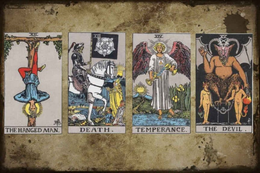 Meaning of Major Arcana (XII-XV)