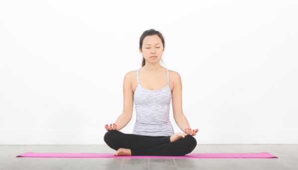 How to find a comfortable meditation position: Half Lotus
