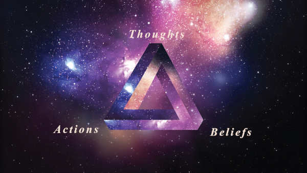 How Your Thoughts, Beliefs, and Actions are Connected