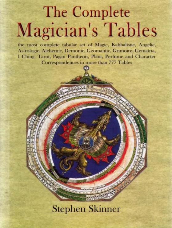Stephen Skinner - The Complete Magicians Tables - 2007