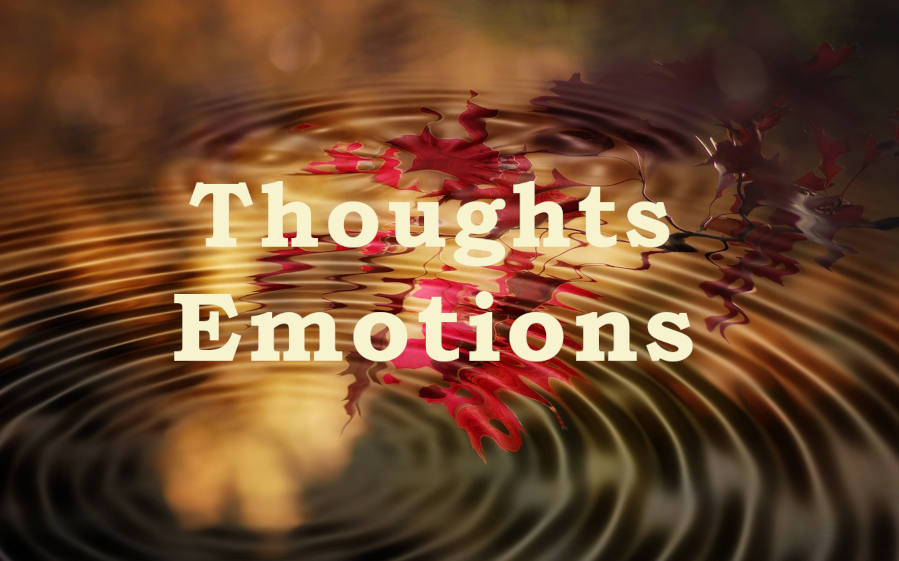 Vibrational Frequency of Thoughts and Emotions